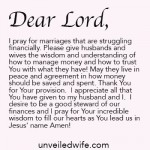 Prayer Of The Day – Trusting God With Finances