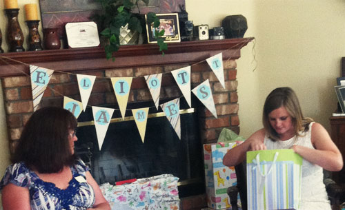 A Beautiful Baby Shower    parenting my story    eliott james baby shower ideas baby shower    Unveiled Wife