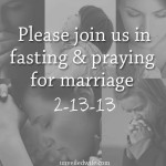 End Of The 40 Day Fast And Prayer For Marriage