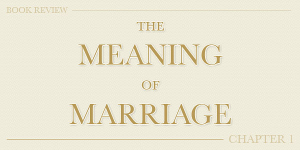 Book Review The Meaning Of Marriage By Timothy Kathy Keller