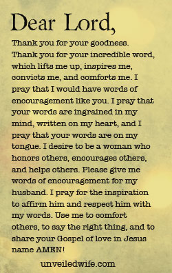 prayer of the day   words of encouragement