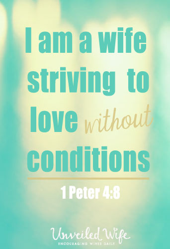 Striving To Love Without Conditions