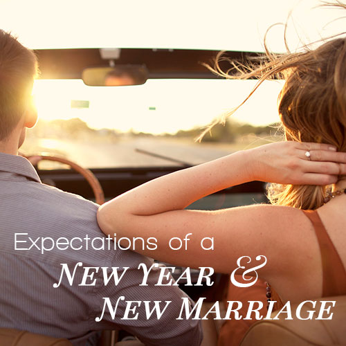 Expectations Of A New Year And A New Marriage
