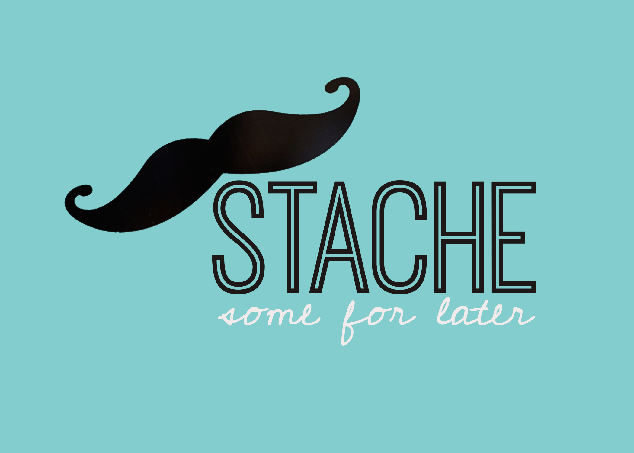 "A ""Mustache"" Baby Shower Theme With Printables"