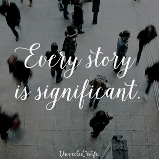 Your Story, My Story, And Which One Is Worth Sharing?