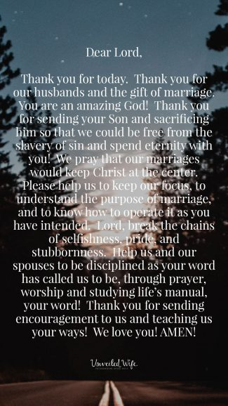 Prayer: Keeping Christ At The Center Of Your Marriage