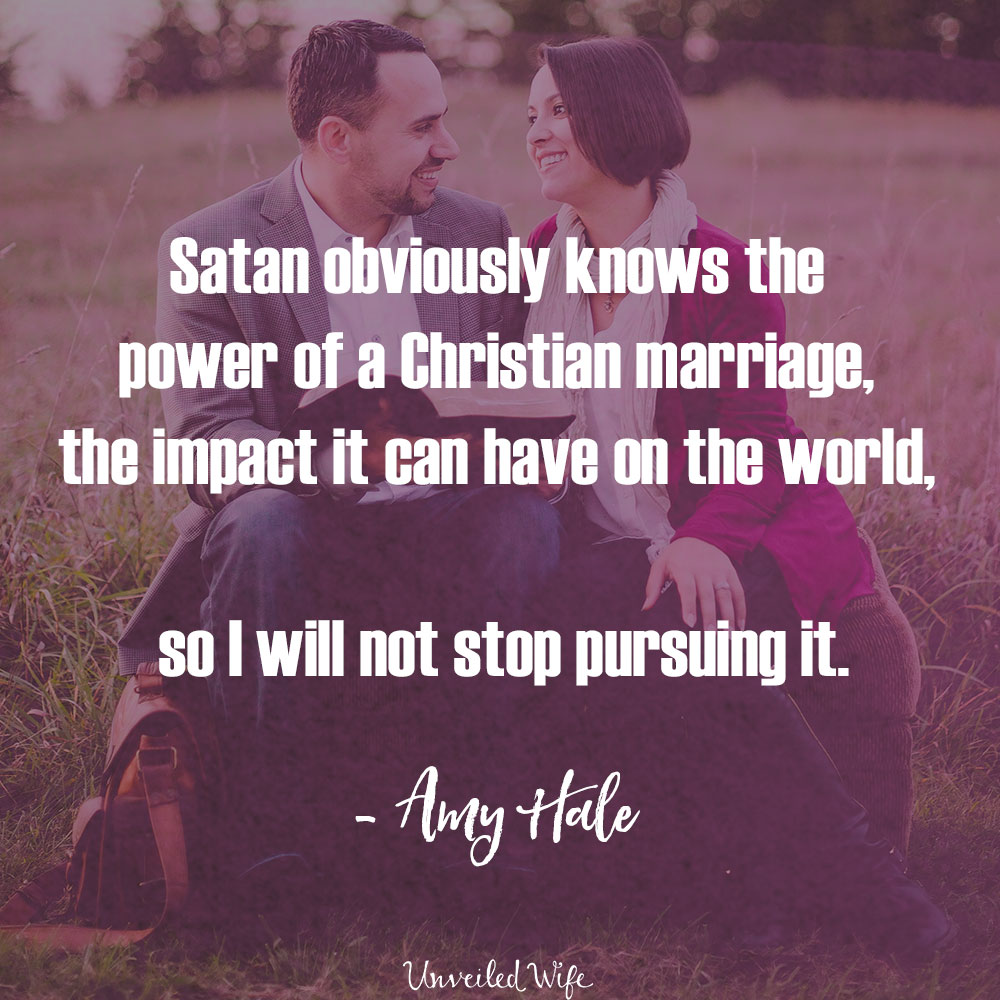 A Healthy Marriage That Points To Christ Scares The Enemy