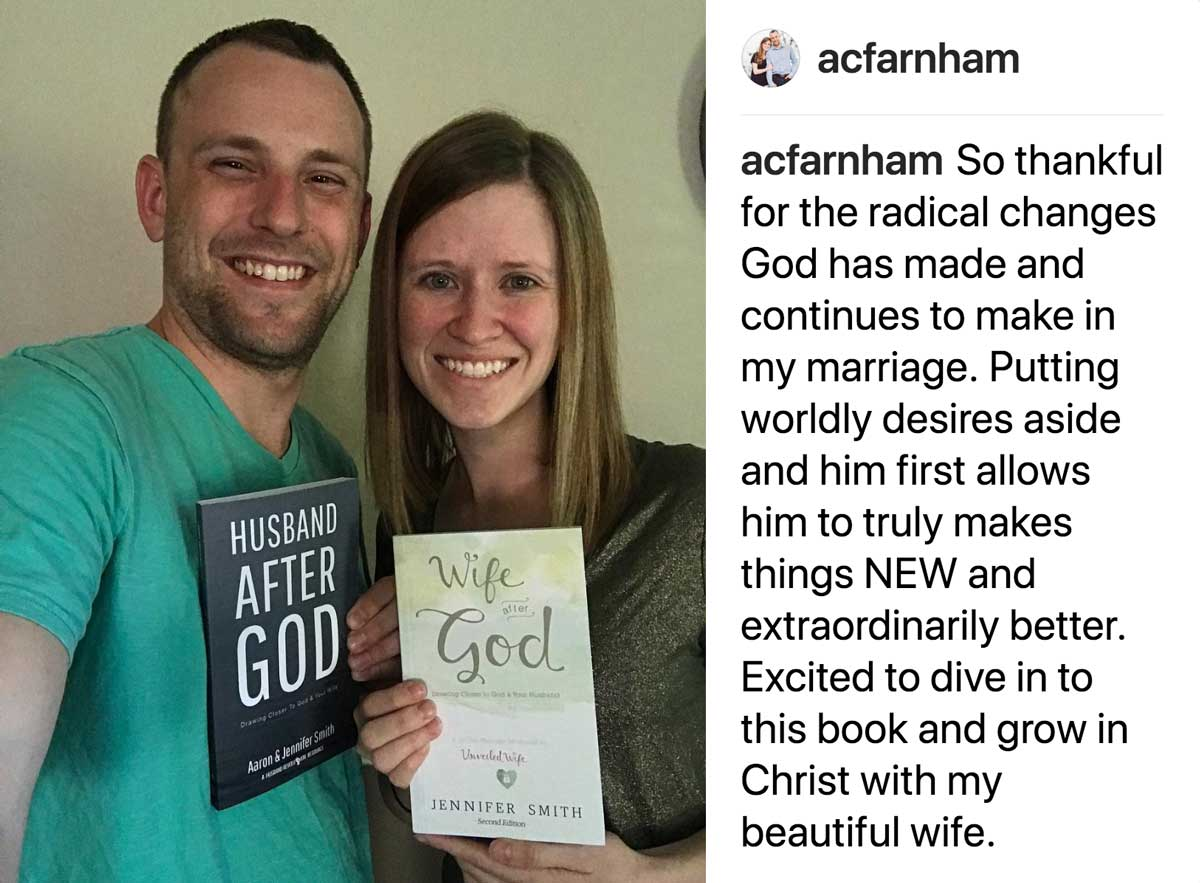 Praise God for what he is doing in marriages all around the world.
